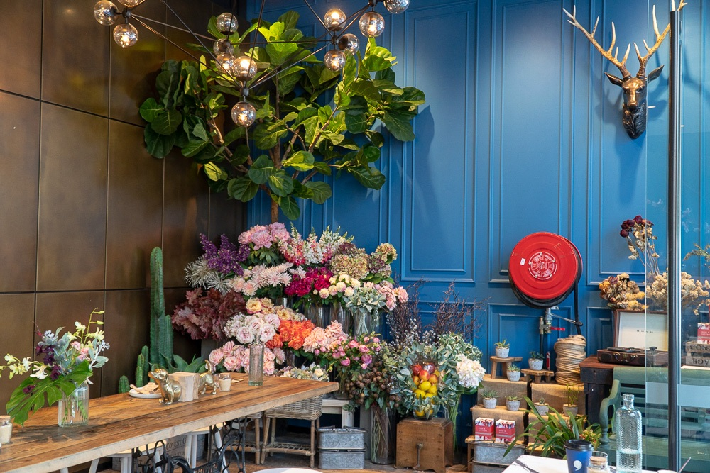 Fika By Cuppa Flower, Interiors